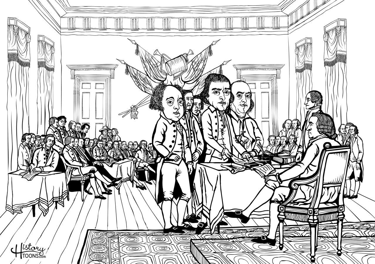 declaración independencia estados unidos américa