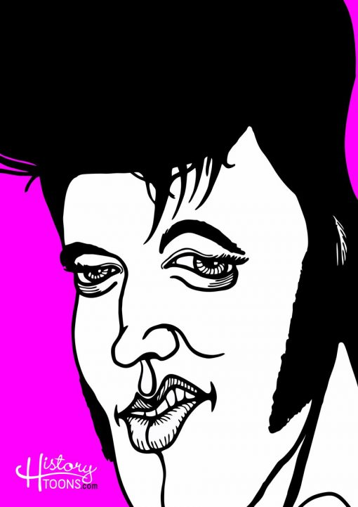 Elvis_Presley_Portrait_History_Toons_Kico_F_Uribe